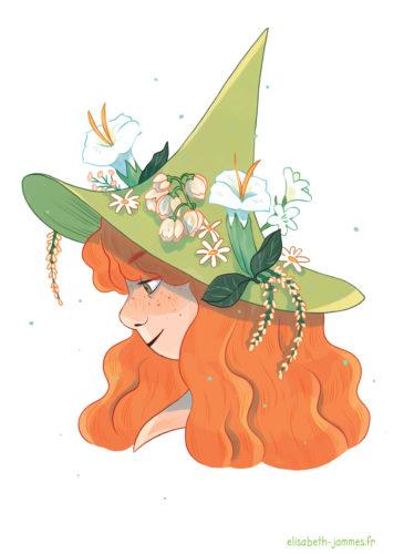 elisabeth-jammes-sorcière-green
